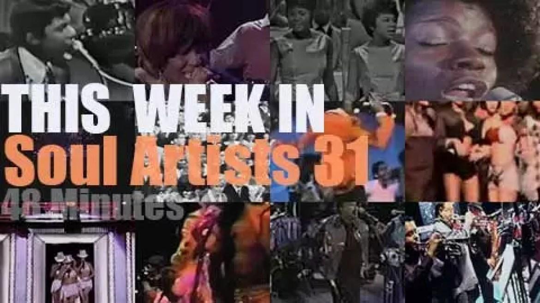 This week In Soul Artists 31