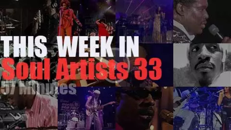 This week In Soul Artists 33