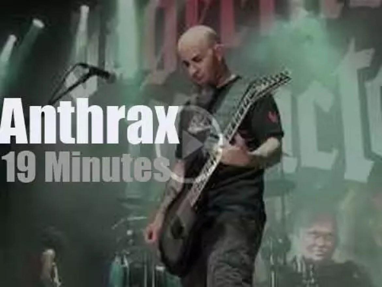 Anthrax hard rock Columbus (2010)