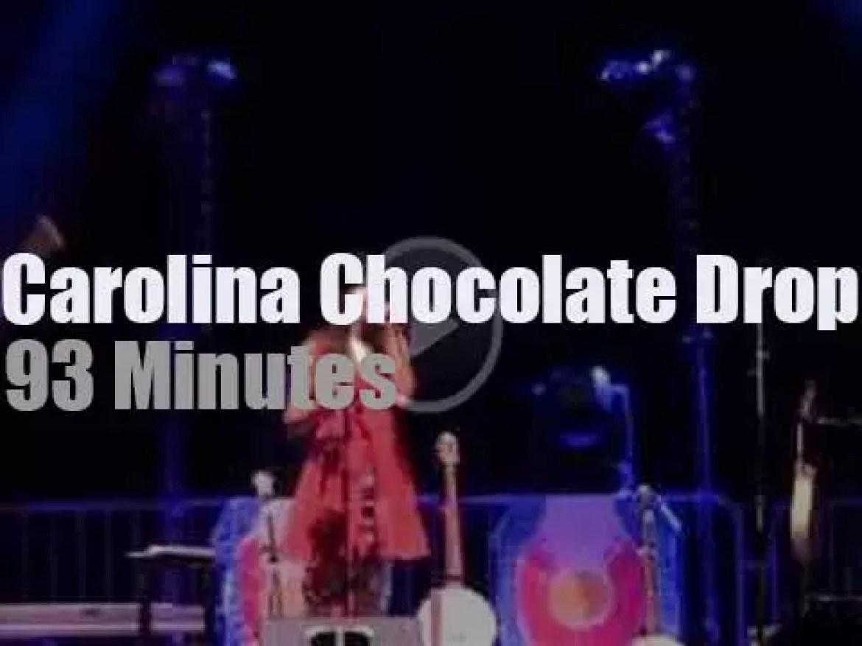 Carolina Chocolate Drops rock Arkansas (2014)
