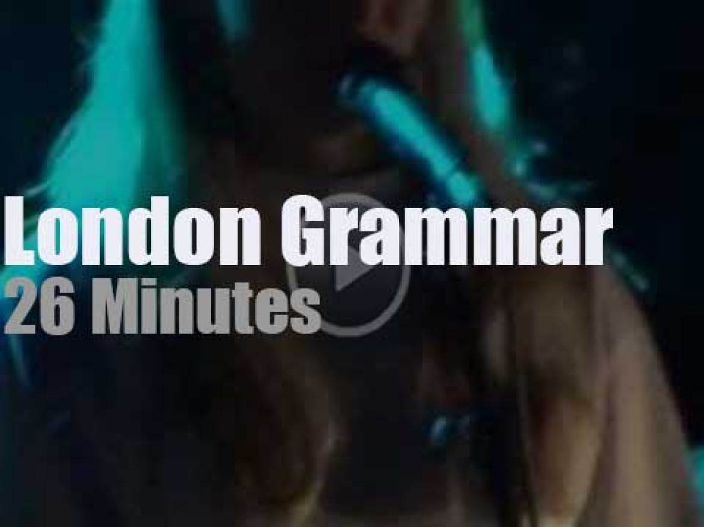 London Grammar enchant London (2013)