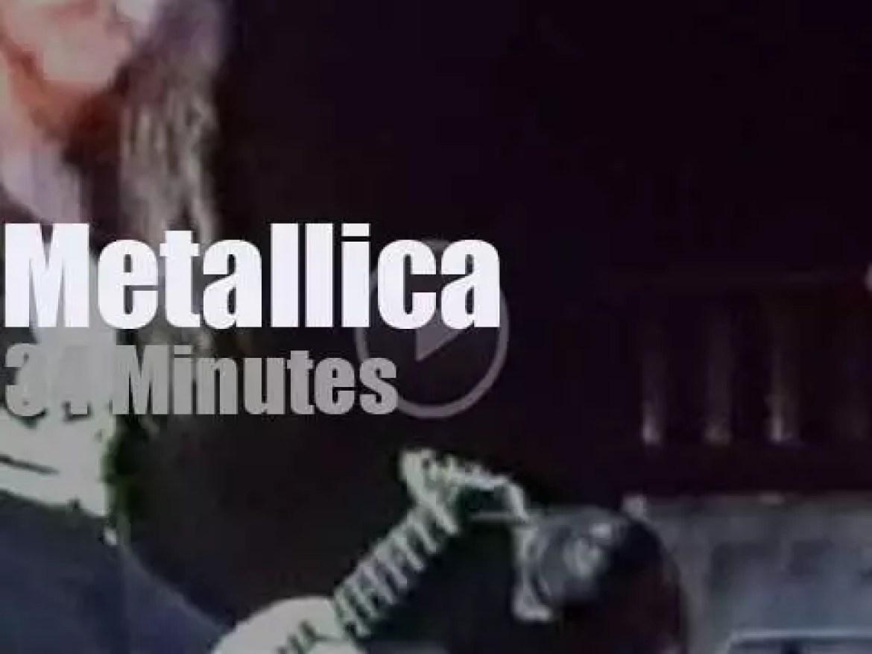 Metallica serenade London (1988)