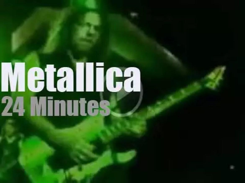 Metallica serenade New-Zealand (2010)