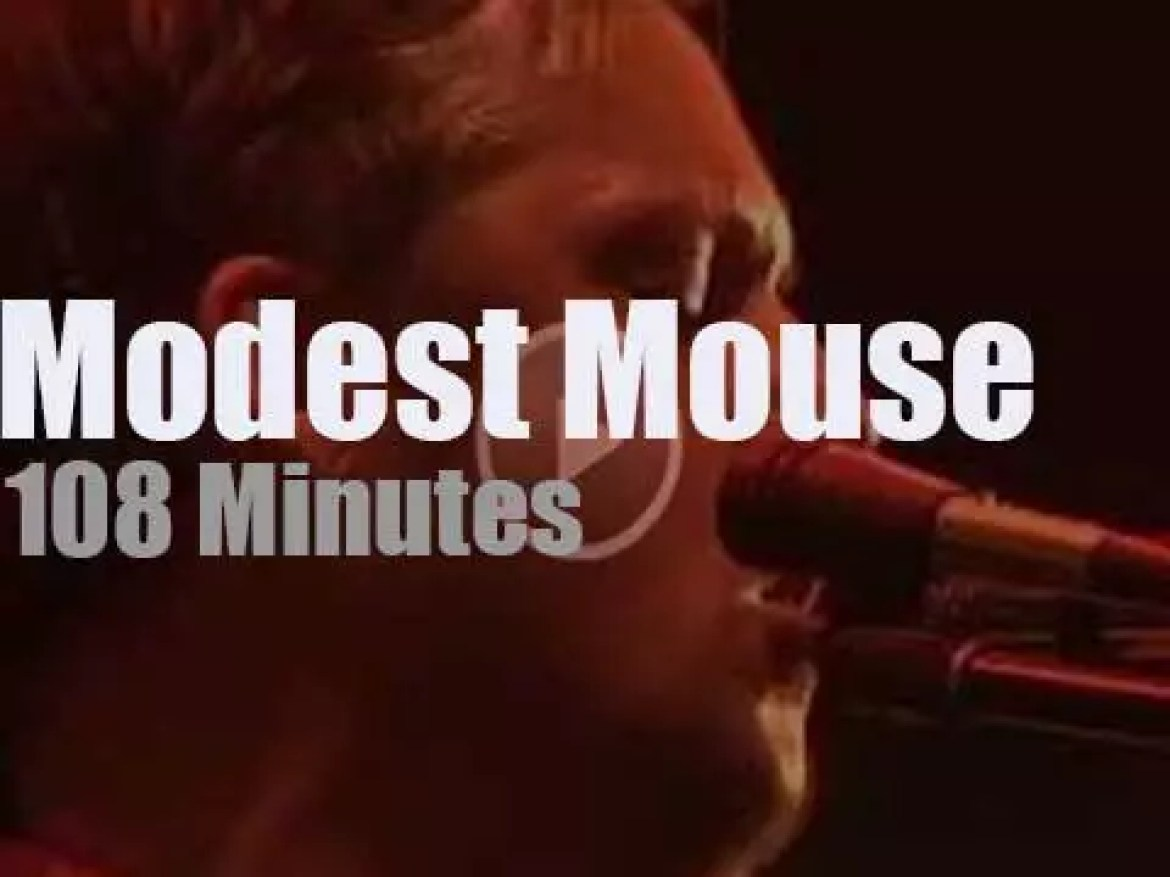Modest Mouse rock in Port Chester, (2017)