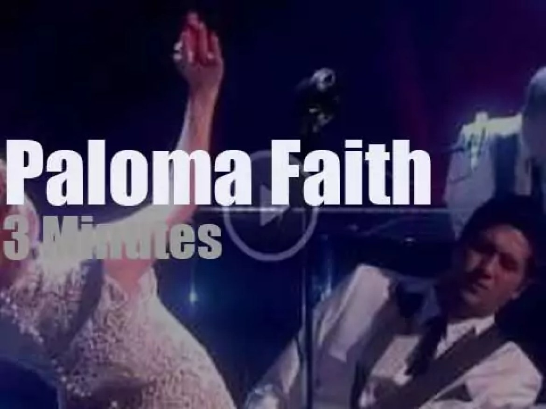 On English TV today, Paloma Faith at 'Chatty Man Show' (2012)