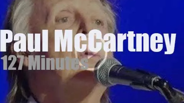 Paul McCartney headlines 'Austin City Limits Festival' (2018)