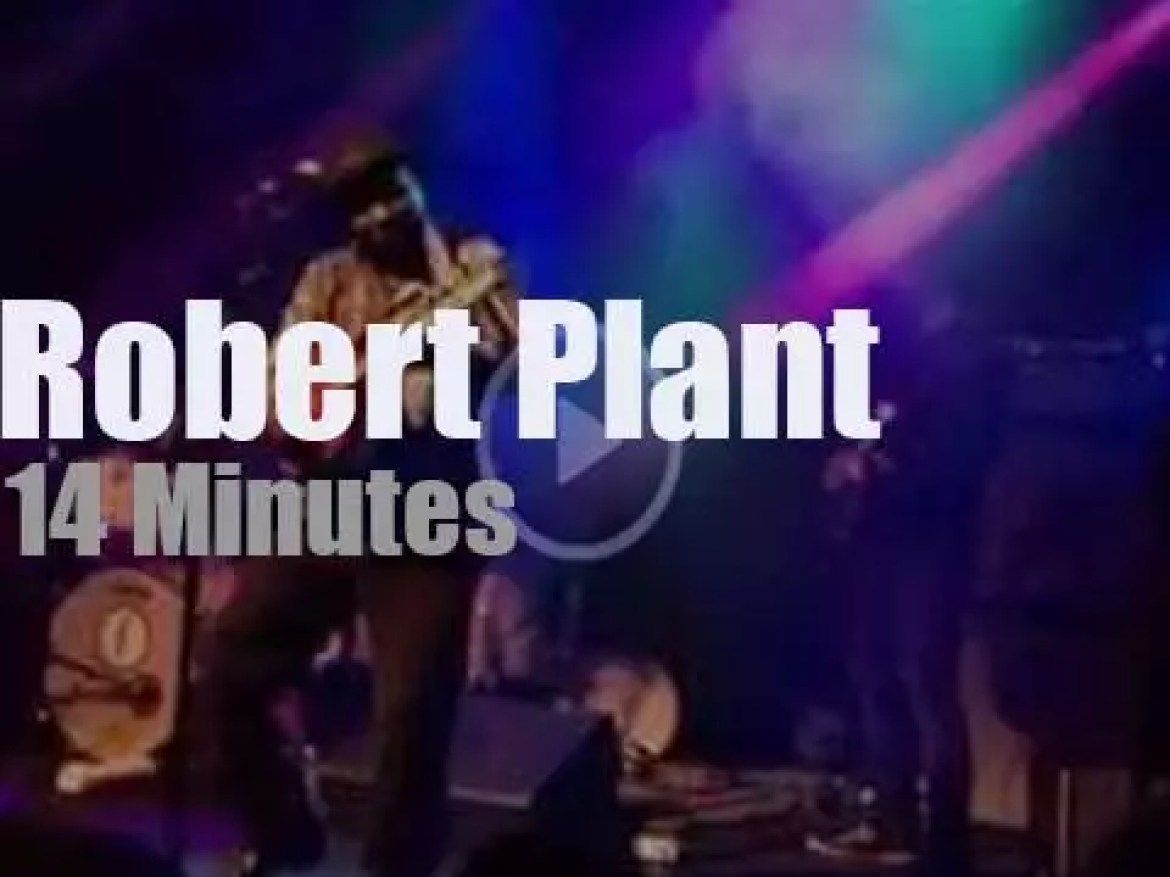Robert Plant wraps his tour in Brooklyn (2014)