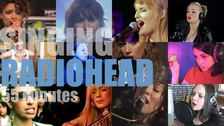 Singing (Ladies only)  Radiohead