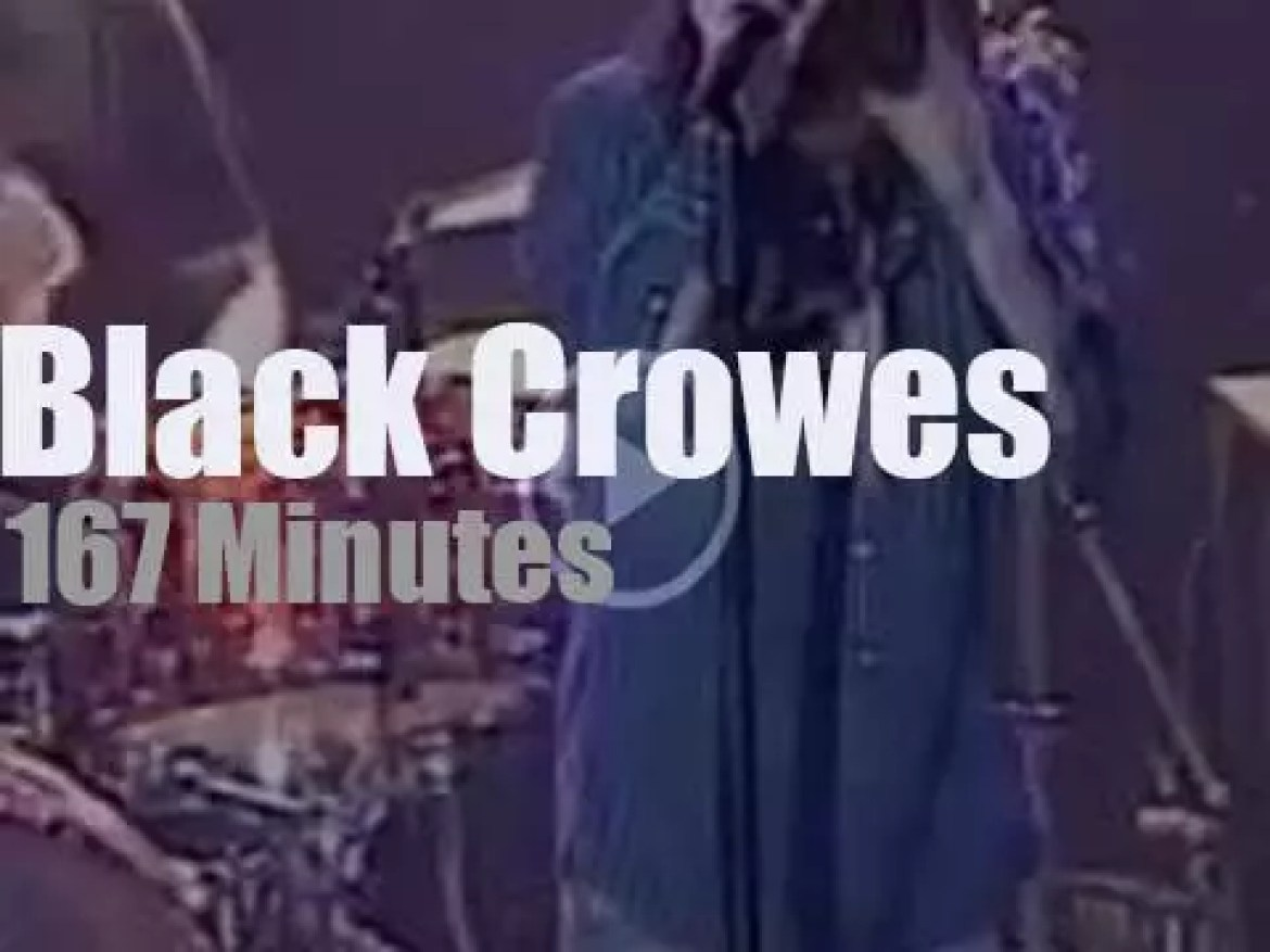 The Black Crowes 'join hands' in Vegas (2005)