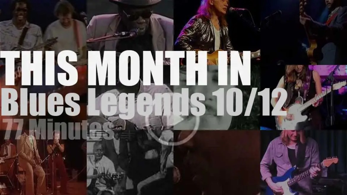 This month In Blues Legends 10/12