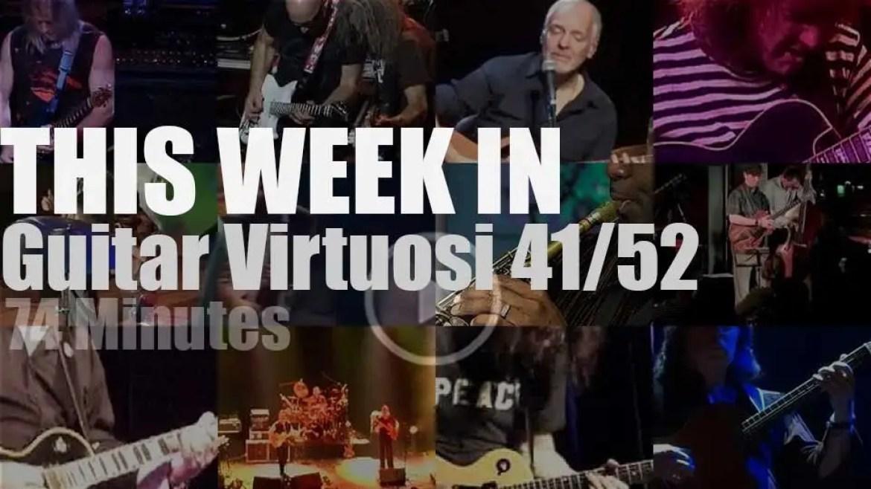 This week In Guitar Virtuosi 41/52