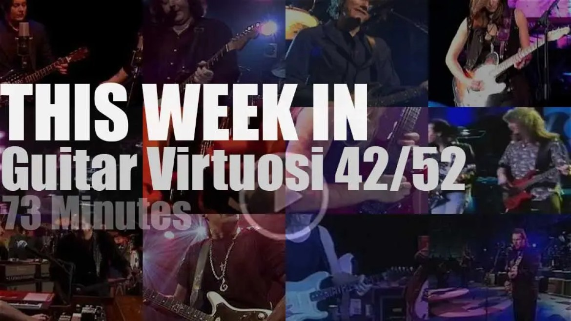 This week In Guitar Virtuosi 42/52