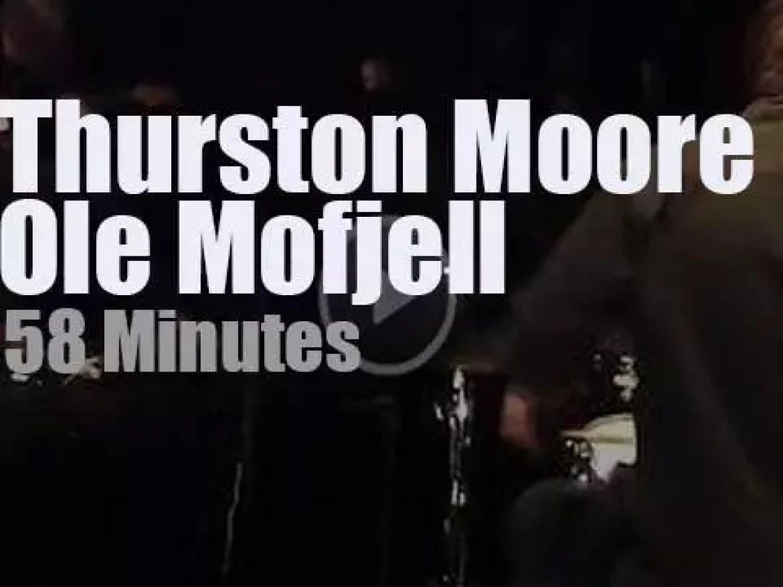 Thurston Moore meets Ole Mofjell in Copenhagen (2016)