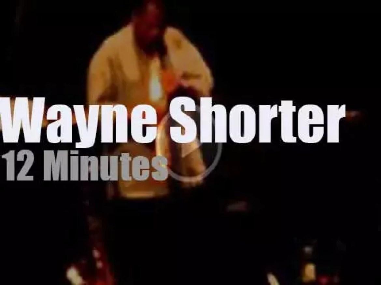 Wayne Shorter quartet plays in Italy (2011)