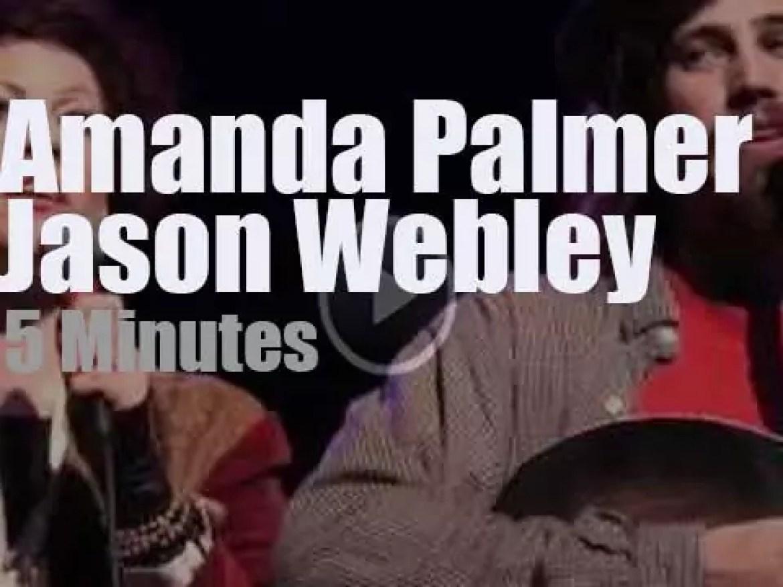 Amanda Palmer joins Jason Webley in Seattle (2011)