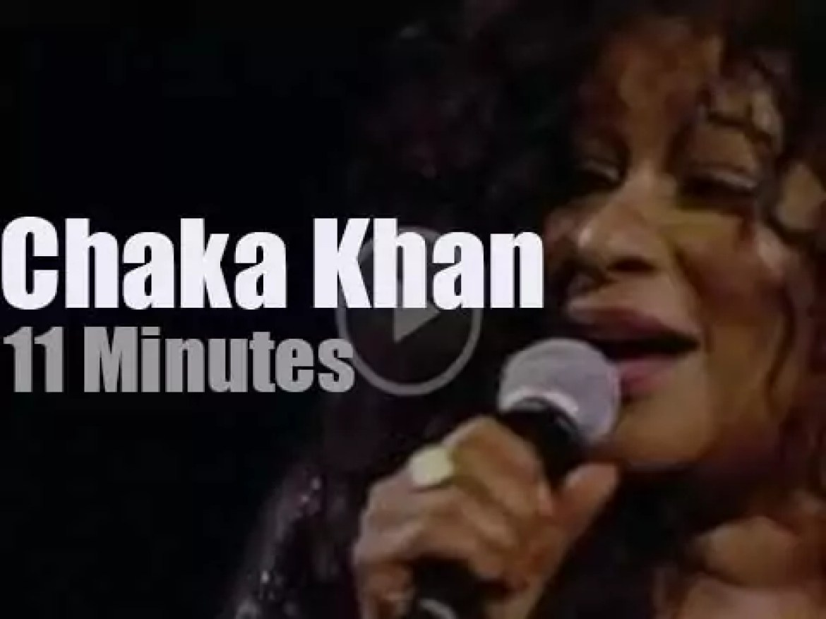 Chaka Khan at 'Night of the Proms' in Holland (2016)
