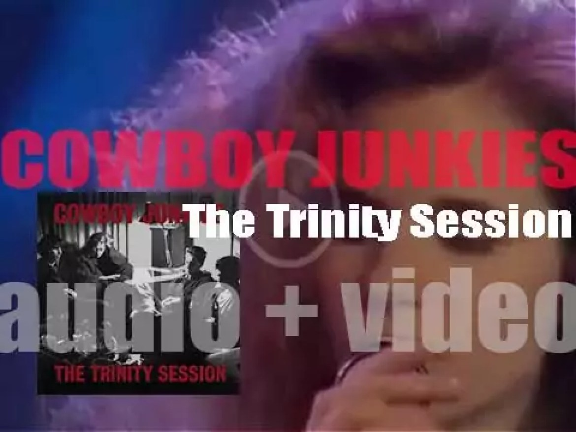 Cowboy Junkies record their second album 'The Trinity Session' at a Church in Toronto (1987)