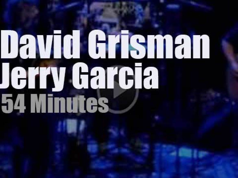 Jerry Garcia meets David Grisman in San Francisco (1991)