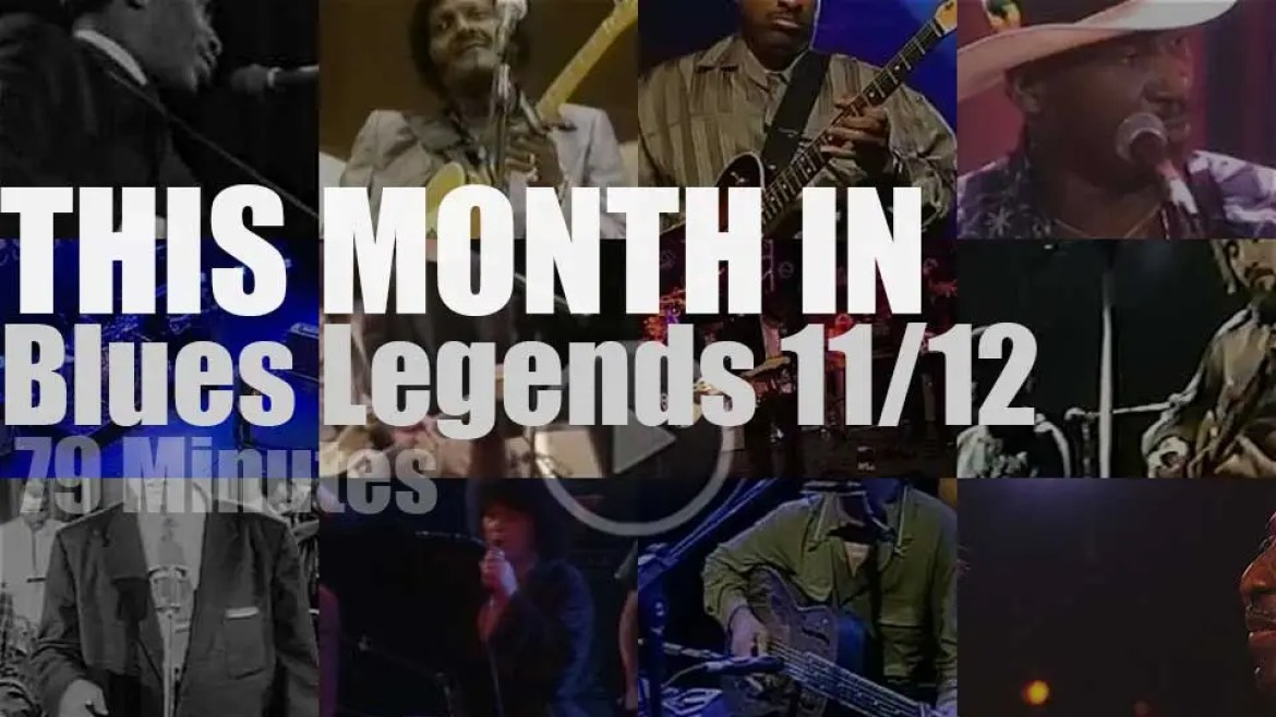 This month In Blues Legends 11/12