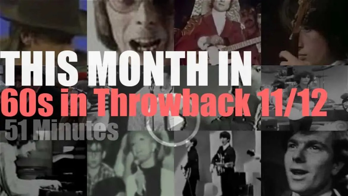 This month In  '60s Throwback' (strictly UK) 11/12