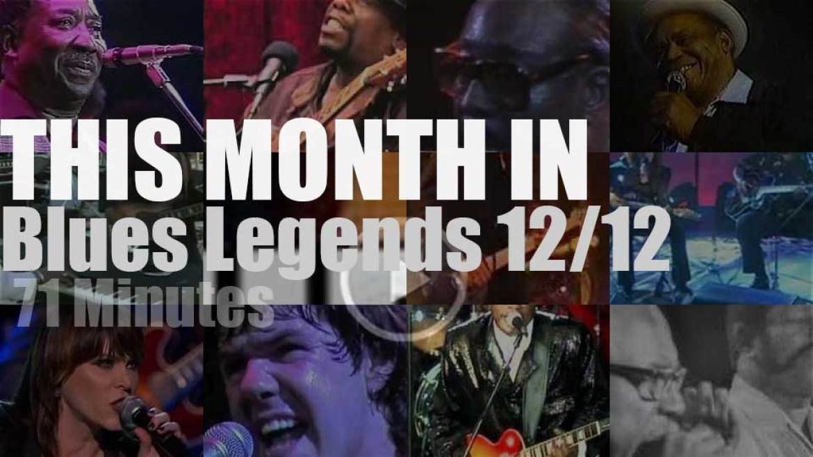 This month In Blues Legends 12/12