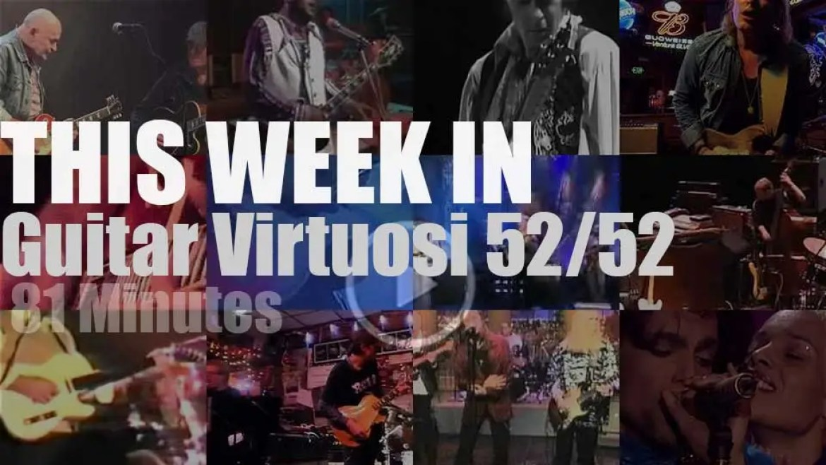 This week In Guitar Virtuosi 52/52