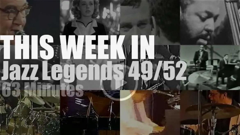 This week In Jazz Legends 49/52