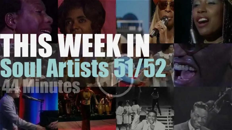 This week In Soul Artists 51/52