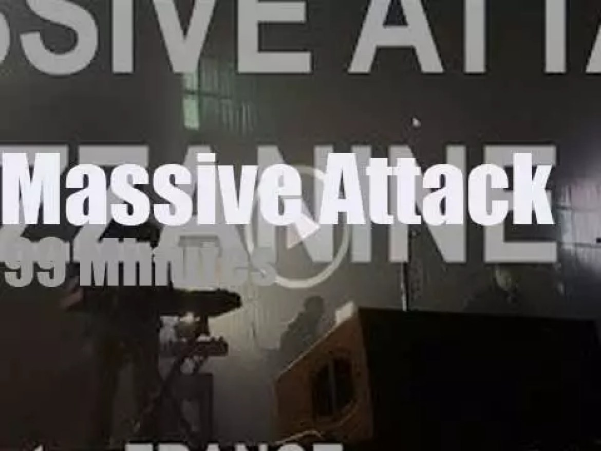 Massive Attack perform in Nantes, France (2019)