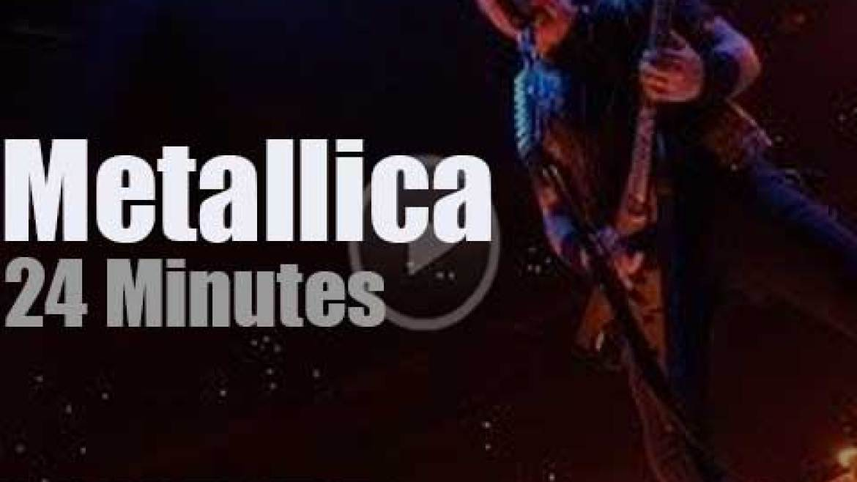 Metallica serenade Little Rock (2019)