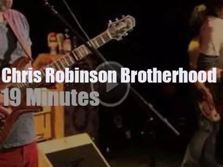 On Radio Woodstock today, Chris Robinson Brotherhood (2015)