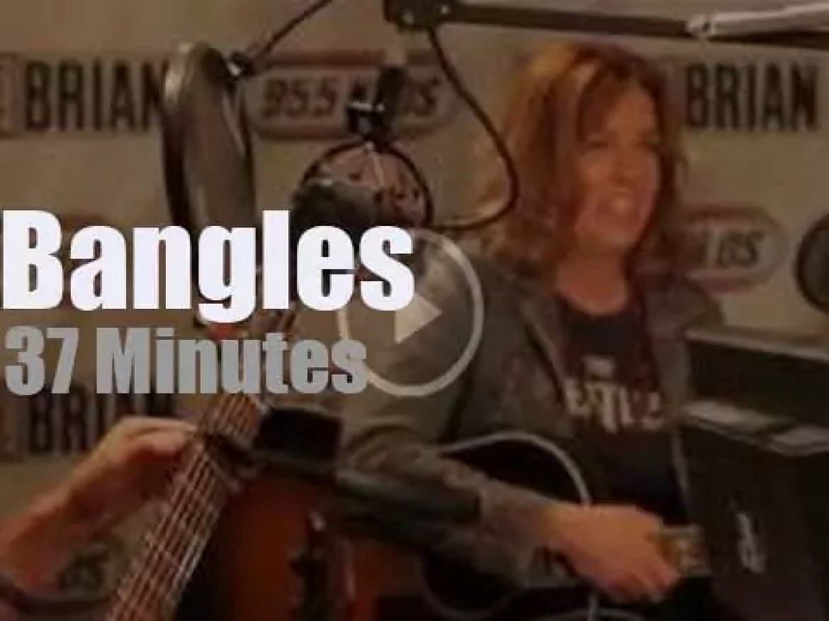 On radio today, The Bangles sing The Beatles (2012)