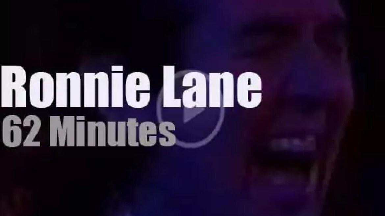 Ronnie Lane recreates Slim Chance in Austin (1988)
