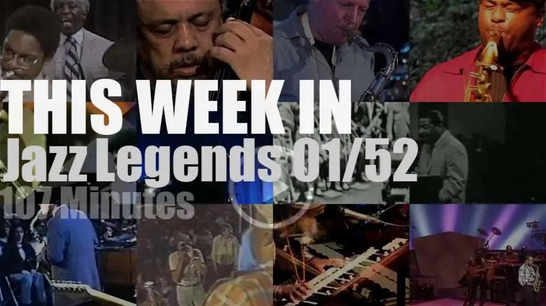 This week In Jazz Legends 01/52