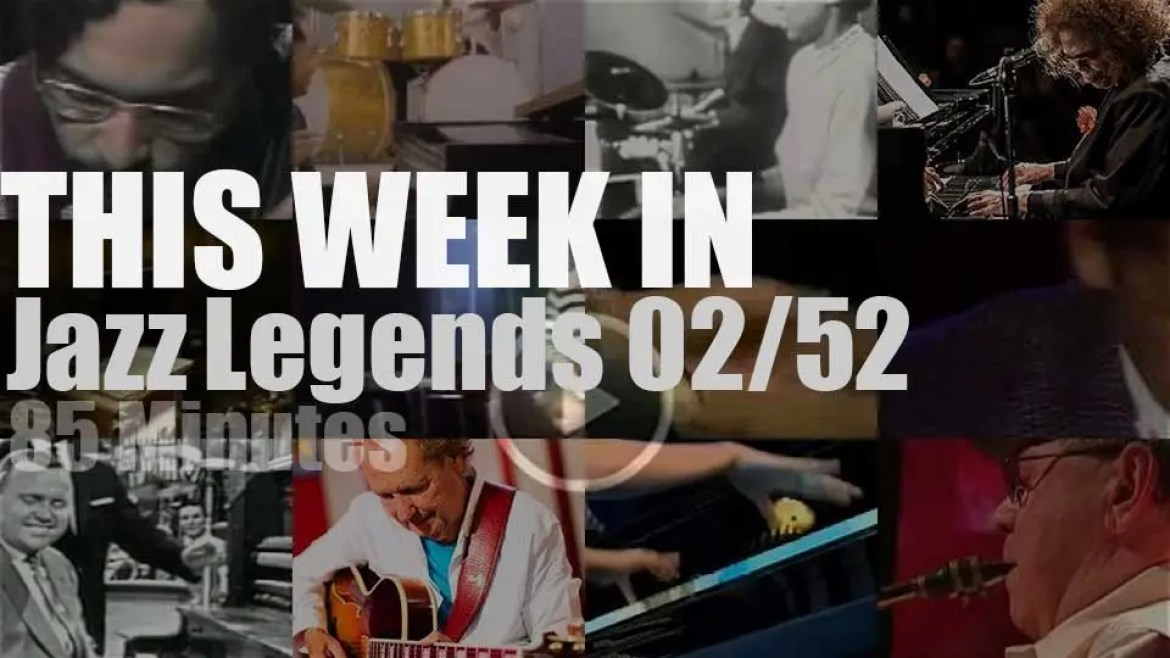 This week In Jazz Legends (Special Pianists) 02/52