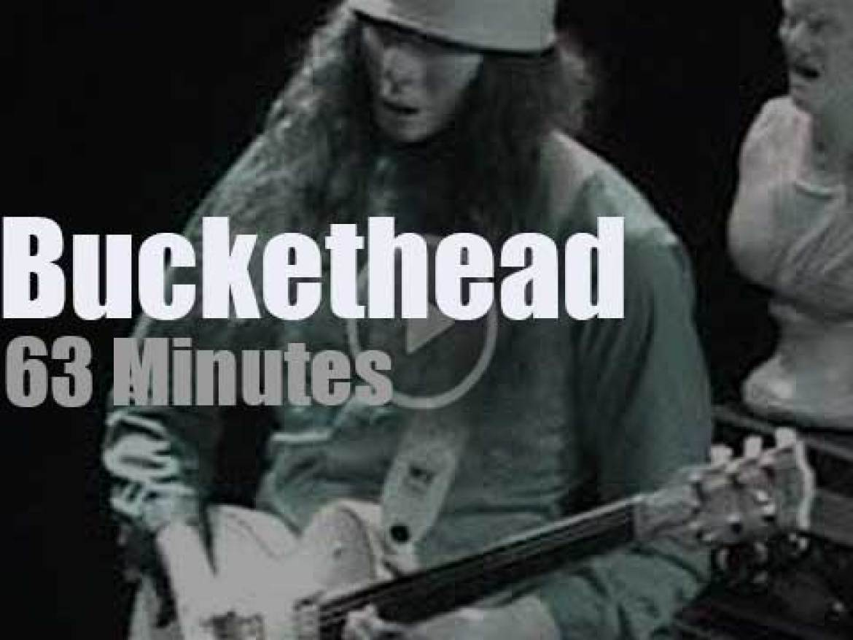 Buckethead shreds in San Francisco (2008)