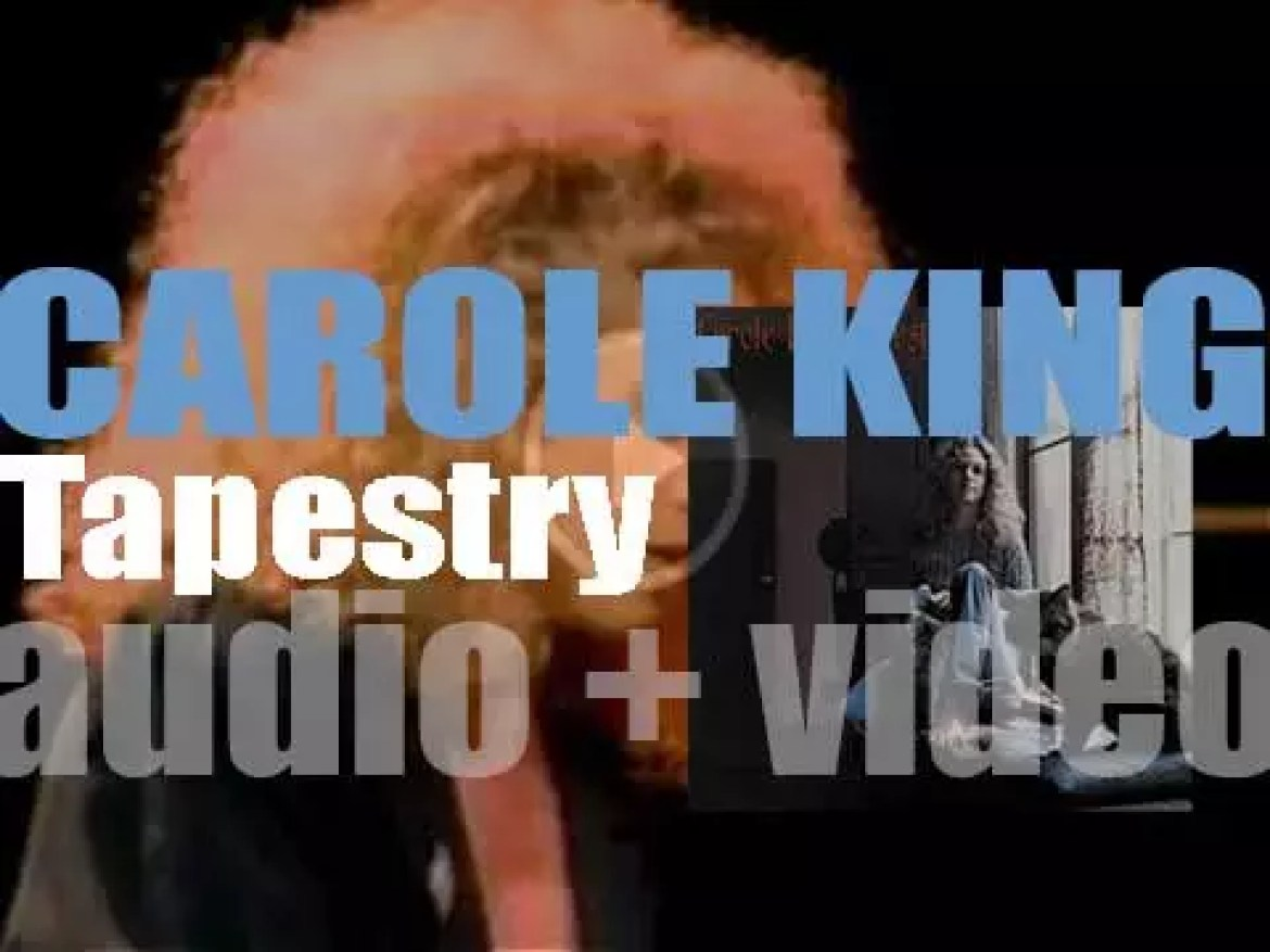 Ode publish Carole King's second album : 'Tapestry' featuring 'It's Too Late' and 'I Feel the Earth Move' (1971)