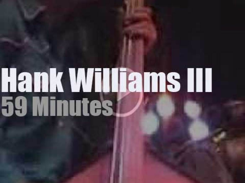 Hank Williams III  rocks North Carolina (2004)