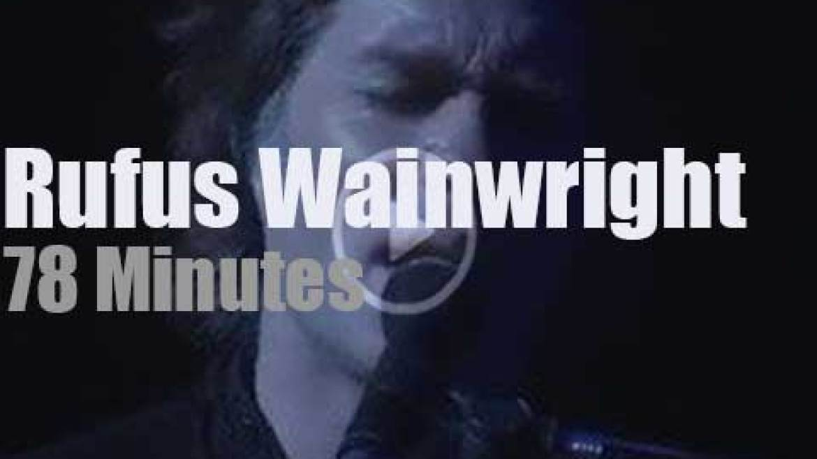 Rufus Wainwright premieres 'Prima Donna' in Buenos Aires (2016)