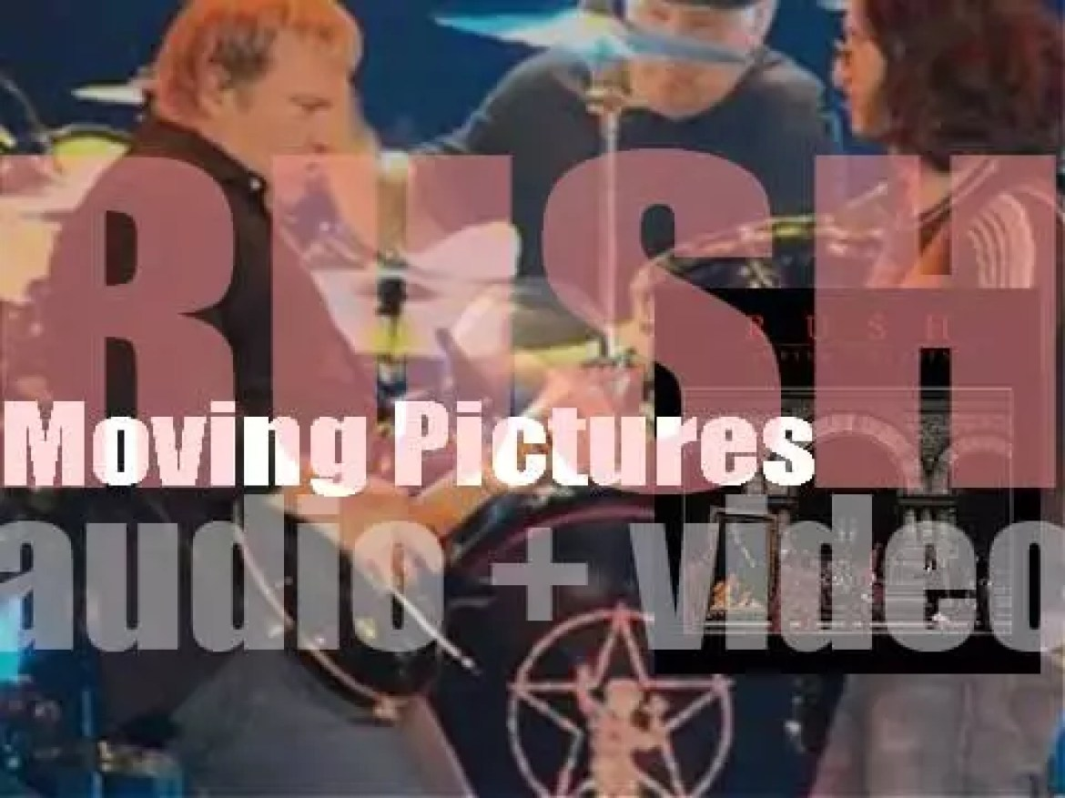 Rush release 'Moving Pictures' their eighth album (1981)