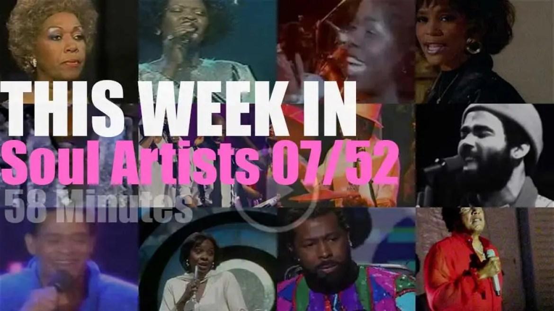 This week In Soul Artists 07/52