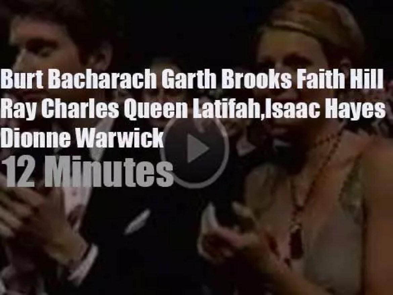 Burt Bacharach et al perform at the 72nd Oscars (2000)