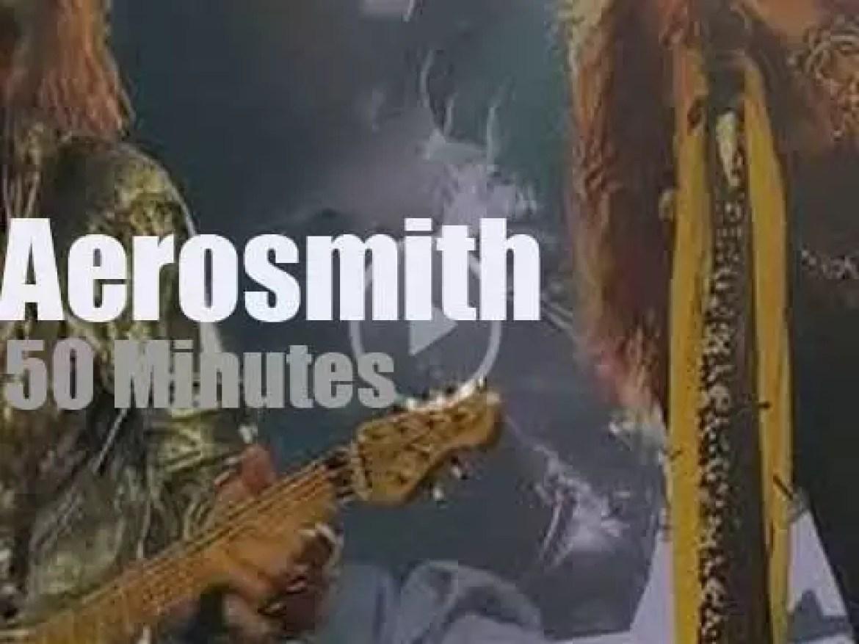 From tonight on, Aerosmith are Las Vegas residents (2019)