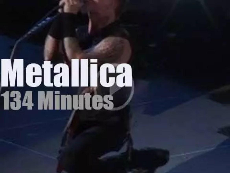 Metallica serenade Paris (2009)