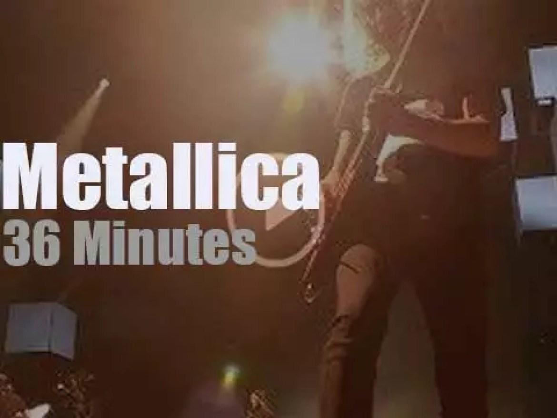 Metallica serenade Stuttgart (2018)