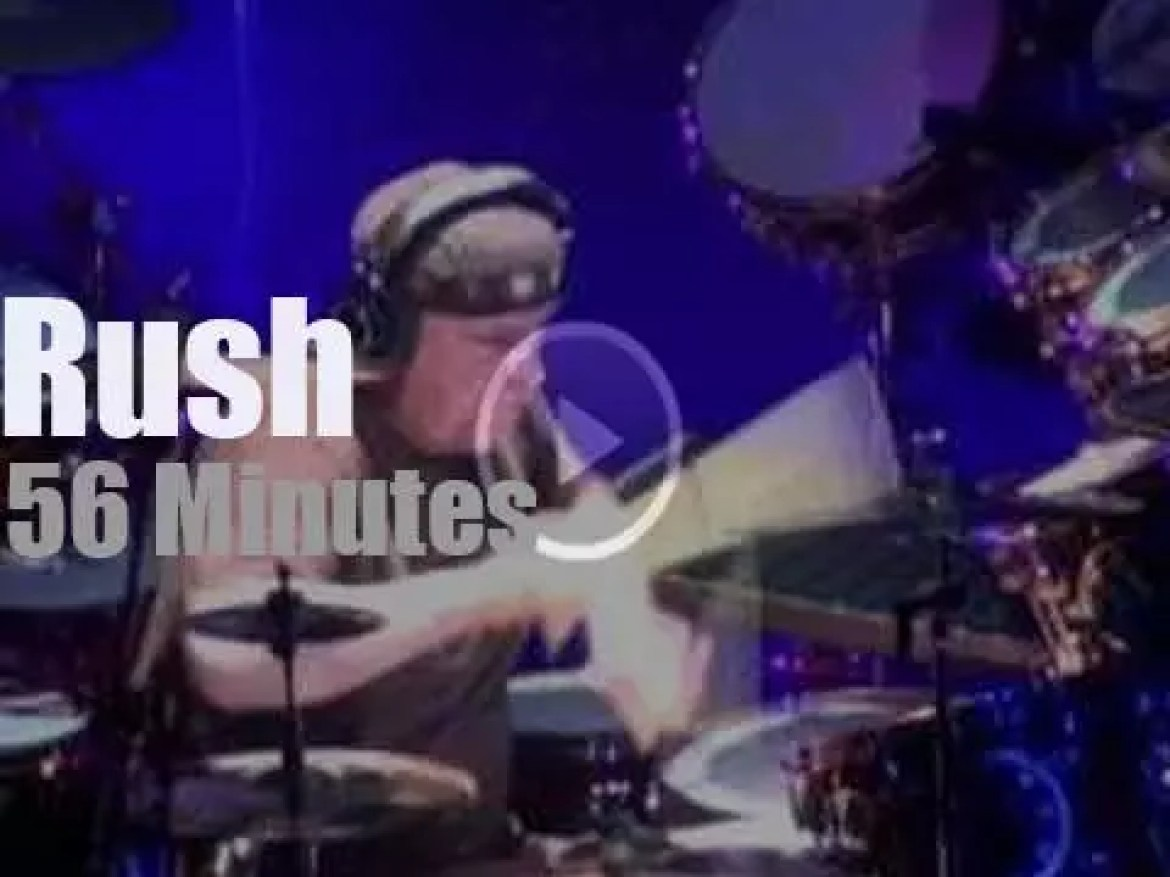 Neil Peart and Rush come to Pennsylvania (2011)