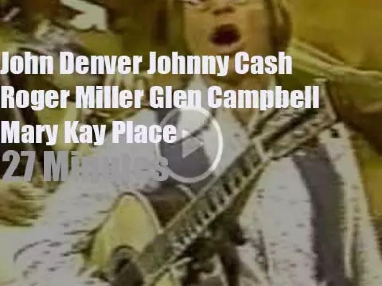 On TV today, John Denver host 'Thank God I'm a Country Boy'  (1977)