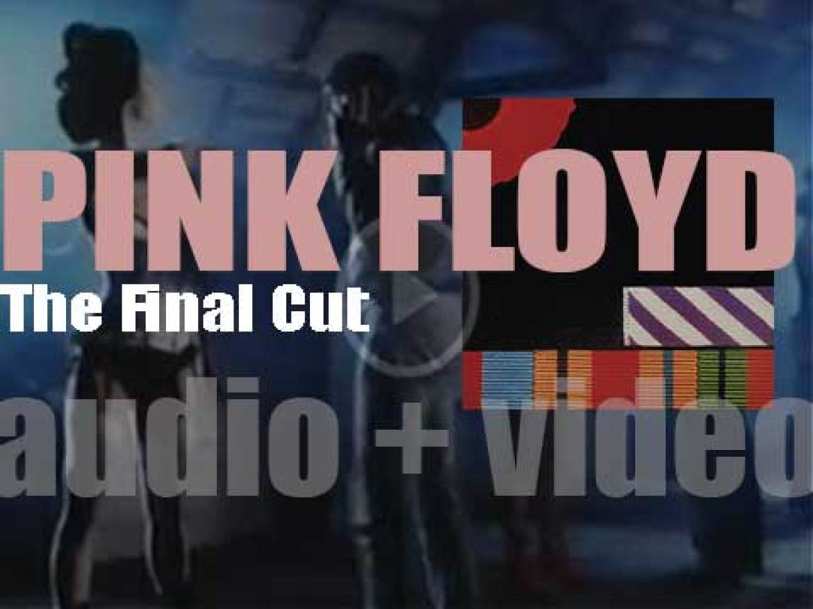 Pink Floyd release 'The Final Cut,' their twelfth (and the last to feature Roger Waters) studio album (1983)
