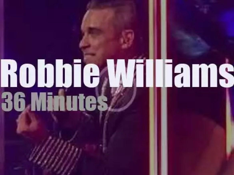 Robbie Williams spends a second night in Vegas (2019)