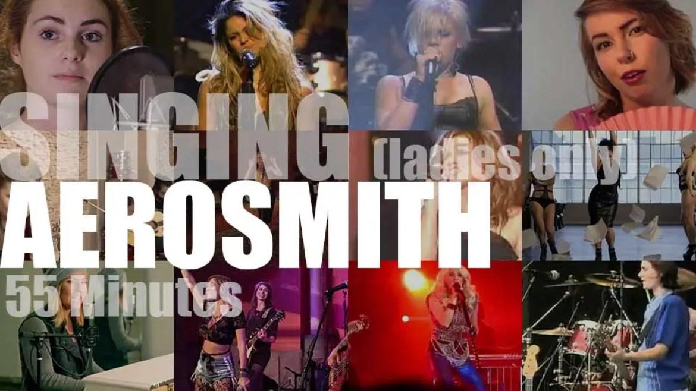 Singing (Ladies only)  Aerosmith